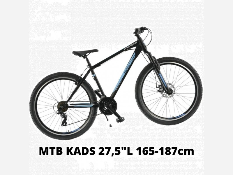 MTB KANDS 27,5 L modrý